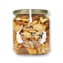 Miel de Azahar con Frutos Secos 400 g.