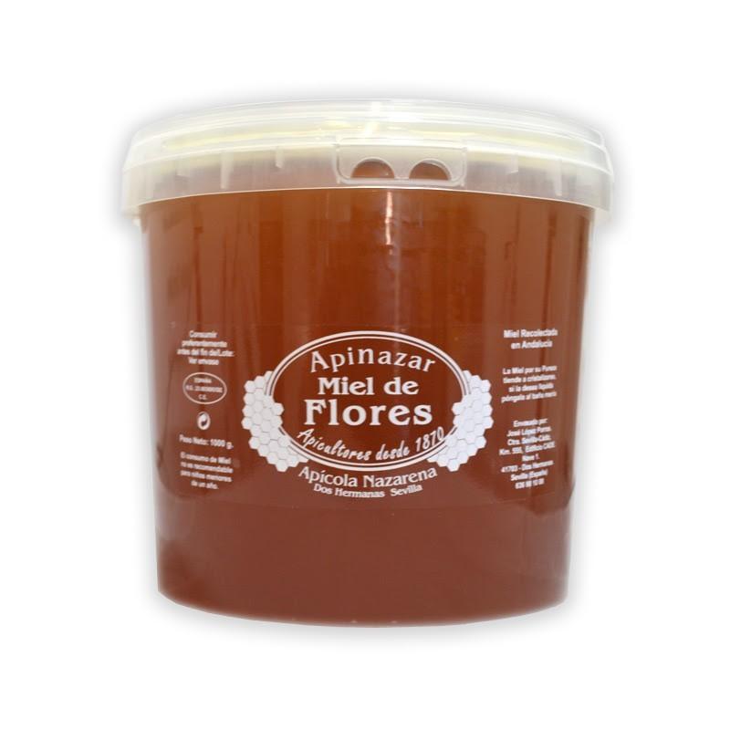 Miel de Flores Cubo 5 kg.